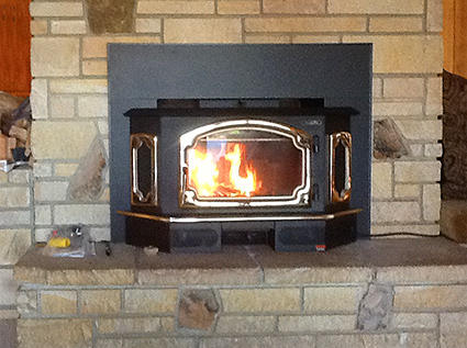 Our fully stocked Jackson CA fireplace & stove showroom offers top rated wood burning fireplace inserts and wood insert installation for residents in Amador and Calaveras Counties.
