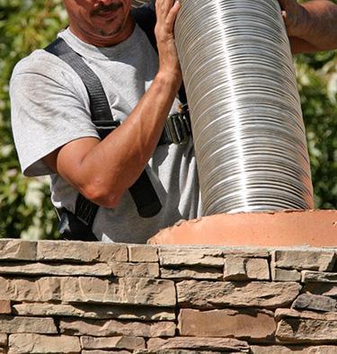 Chimney Liner Installation - Jackson CA