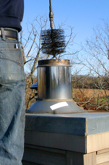 Chimney Flue Cleaning - Amador County CA