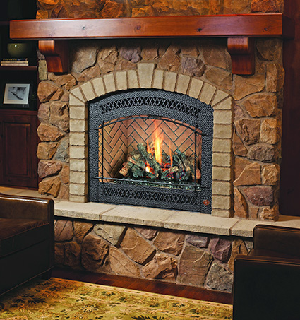Fireplace installed on Line Creek Rd - Valley Springs CA