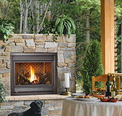 Outdoor Fireplace - Clements CA