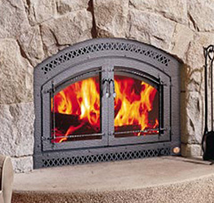 Wood Burning FIreplace - Jackson CA