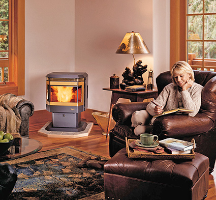 Avalon Wood Pellet Stove