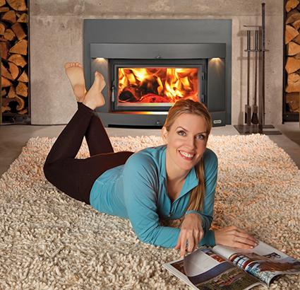 Avalon Wood Fireplace