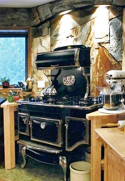 Elmire Cook Stove Installation - Jackson CA on French Bar Rd Elmira  Cookstoves ... - Wood Burning Cookstoves Elmira Stove Works Cookstoves