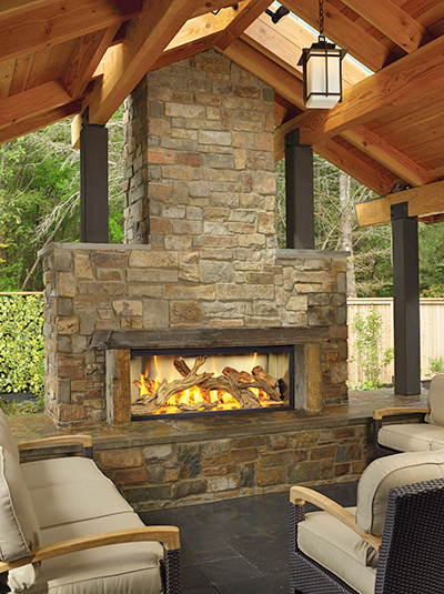 Outdoor Fireplace Installed In Sutter Creek Ca On Ione Rd
