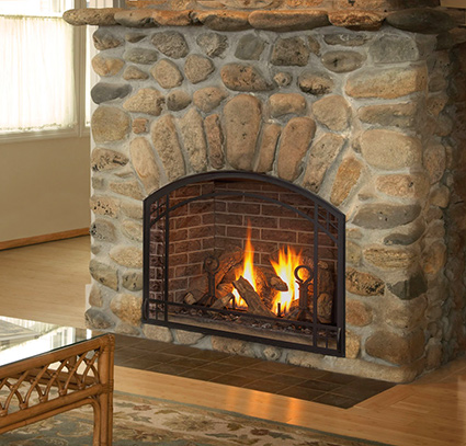Gas Fireplaces | Gas Burning Fireplace | Jackson CA