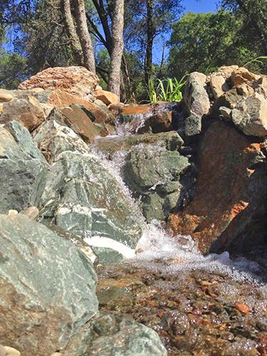 Custom Waterfall Installation - Jackson CA