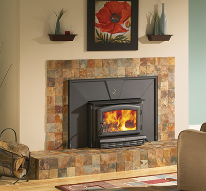Enerzone Wood Fireplace Insert - Mt. Zion Rd Pine Grove CA