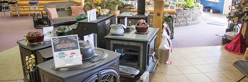 big selection of wood stoves, gas stoves, pellet stoves Jackson CA area Amador County & Calaveras County