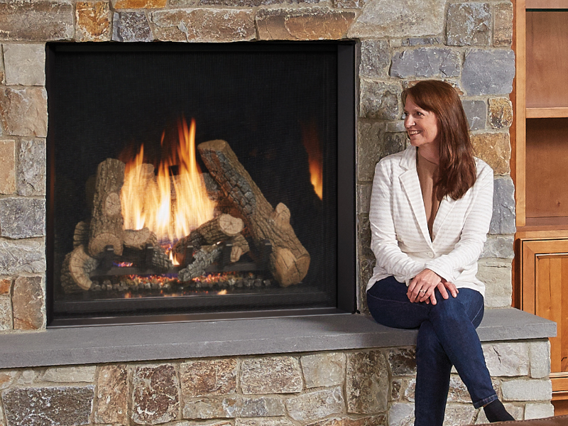 Gas Burning Fireplaces Sierra Hearth And Home